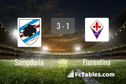 Preview image Sampdoria - Fiorentina