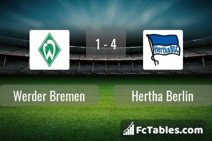 Preview image Werder Bremen - Hertha Berlin