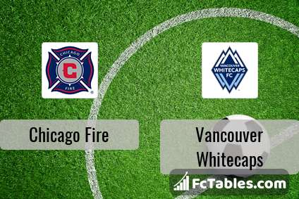 Preview image Chicago Fire - Vancouver Whitecaps