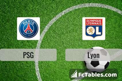 Preview image PSG - Lyon