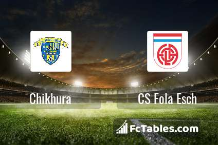 Preview image Chikhura - CS Fola Esch