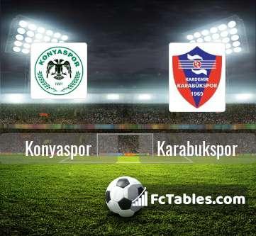 Konyaspor Karabukspor H2H