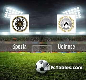 Preview image Spezia - Udinese