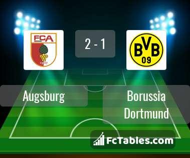 Preview image Augsburg - Borussia Dortmund