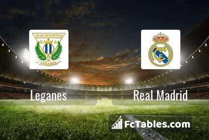 Preview image Leganes - Real Madrid