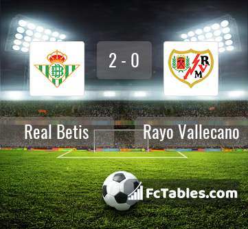 Preview image Real Betis - Rayo Vallecano
