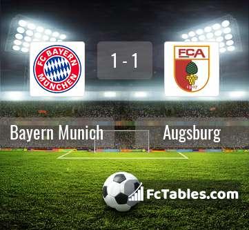 Preview image Bayern Munich - Augsburg