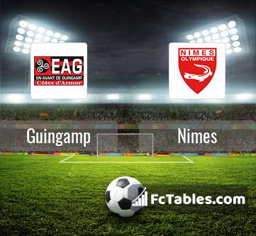 Preview image Guingamp - Nimes