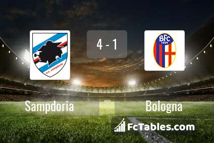 Preview image Sampdoria - Bologna