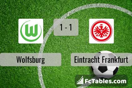 Preview image Wolfsburg - Eintracht Frankfurt