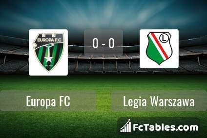 Preview image Europa FC - Legia Warszawa