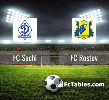 Preview image FC Sochi - FC Rostov