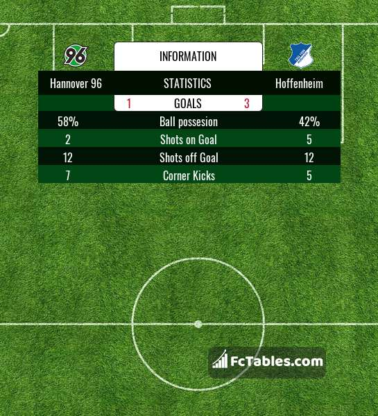 Preview image Hannover 96 - Hoffenheim