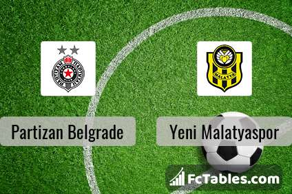 Preview image Partizan Belgrade - Yeni Malatyaspor