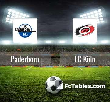 Preview image Paderborn - FC Köln