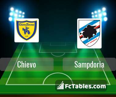 Preview image Chievo - Sampdoria
