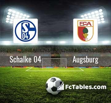 Schalke 04 Augsburg H2H