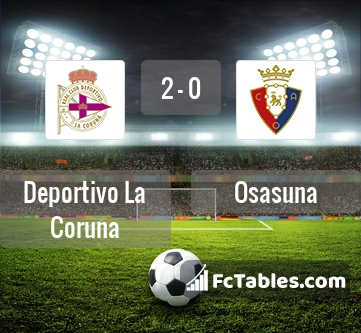 Preview image RC Deportivo - Osasuna