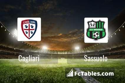 Preview image Cagliari - Sassuolo