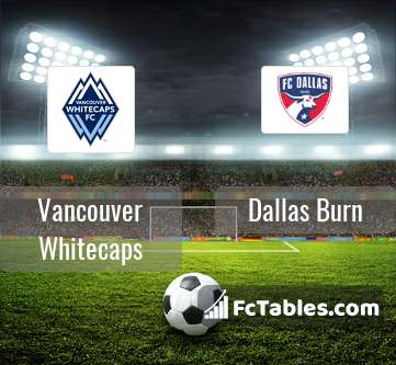 Preview image Vancouver Whitecaps - Dallas Burn