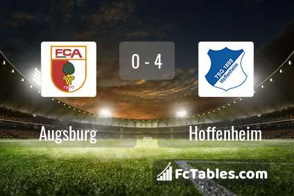 Preview image Augsburg - Hoffenheim