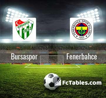 Anteprima della foto Bursaspor - Fenerbahce