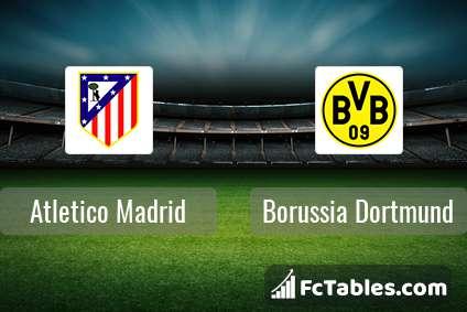 Preview image Atletico Madrid - Borussia Dortmund