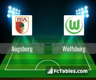Podgląd zdjęcia Augsburg - VfL Wolfsburg