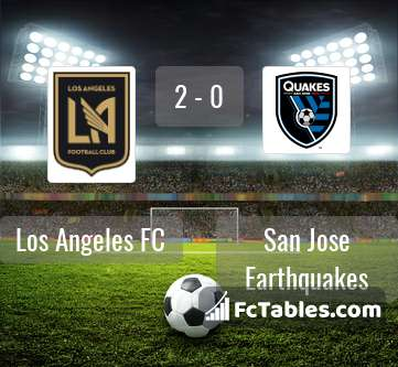 Preview image Los Angeles FC - San Jose Earthquakes