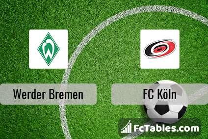 Preview image Werder Bremen - FC Köln