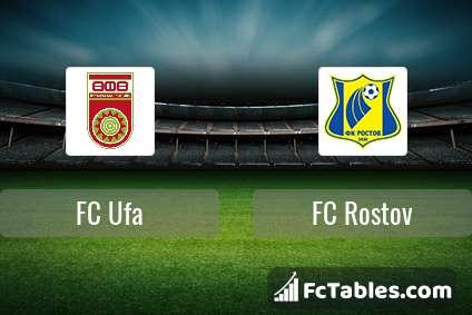 Preview image FC Ufa - FC Rostov