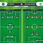 Lineup image Everton - Crystal Palace
