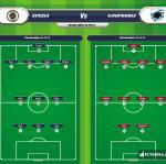 Lineup image Spezia - Sampdoria