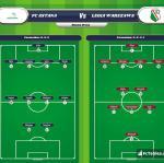 Lineup image FC Astana - Legia Warszawa