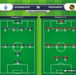 Lineup image Dynamo Kyiv - Young Boys