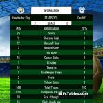Match image with score Manchester City - Cardiff