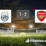 Match image with score Huddersfield - Arsenal