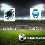 Preview image Sampdoria - SPAL 2013