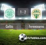 Match image with score Celtic - Ferencvaros