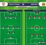 Lineup image VfB Stuttgart - Borussia Dortmund