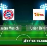 Preview image Bayern Munich - Union Berlin