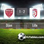 Match image with score Dijon - Lille