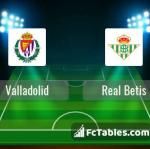 Preview image Valladolid - Real Betis