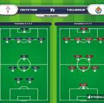 Lineup image Celta Vigo - Valladolid