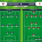 Lineup image Athletic Bilbao - Granada
