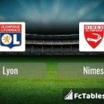Preview image Lyon - Nimes