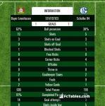 Match image with score Bayer Leverkusen - Schalke 04
