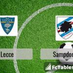 Preview image Lecce - Sampdoria
