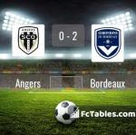 Match image with score Angers - Bordeaux