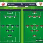 Lineup image Eintracht Frankfurt - VfB Stuttgart